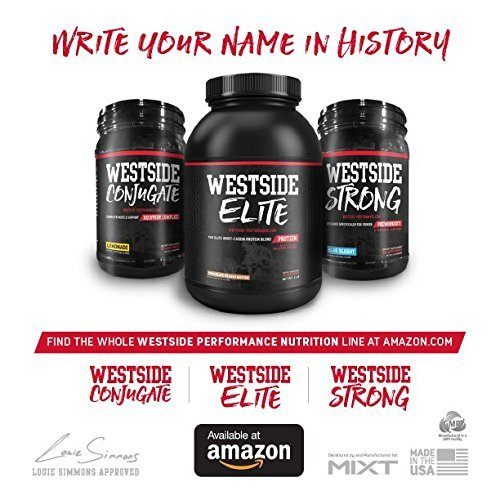 Westside Performance Nutrition Stack (Conjugate, Strong and Elite) + FREE Shaker (Performance Stack)