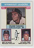 Bert Blyleven; Gaylord Perry; Frank Tanana (Baseball Card) 1976 Topps - [Base] #204
