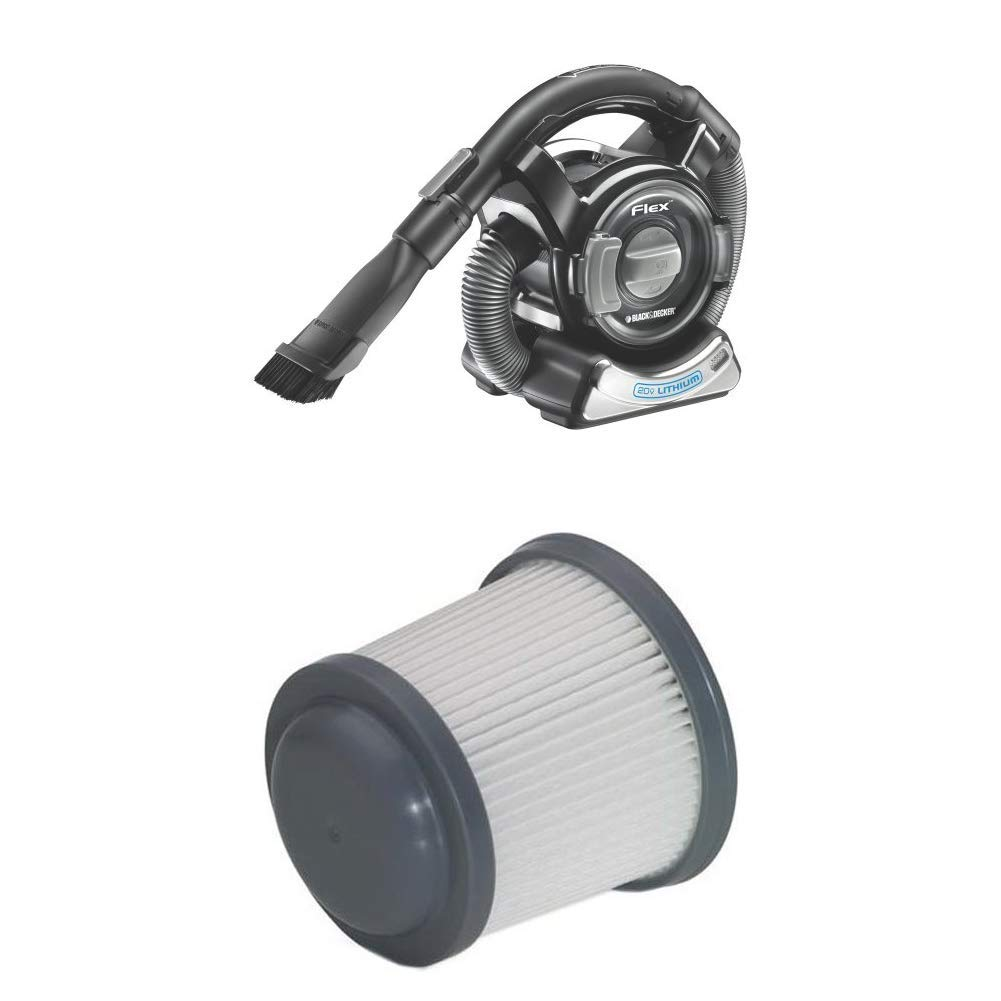 Black & Decker Platinum BDH2000FL 20-Volt Max Lithium Ion Flex Vacuum
