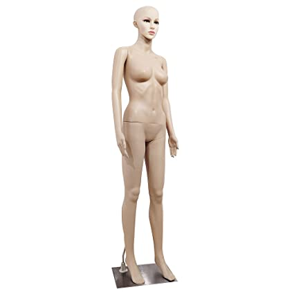 Amazon Com Mefeir Female Mannequin Plastic Dress Form Full Body