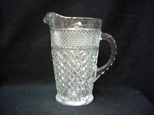 - Anchor Hocking Wexford Pattern 64 Oz. Pitcher in Excellent Condition