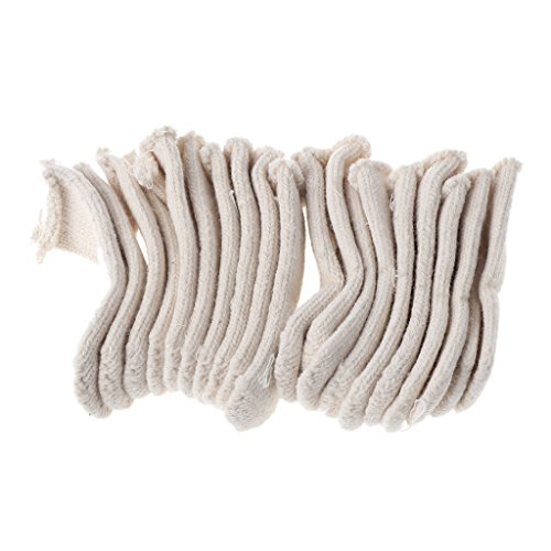 - HOWWOH Cotton Finger Guards Cots Avoid Protection Prints Clean Polish Craft Tool 20 Pieces