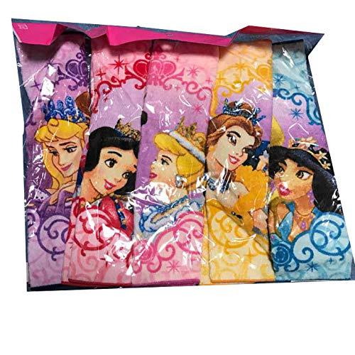 ディズニー プリンセス ハンカチ タオル プリンス ベル シンデレラ 5枚組の商品画像