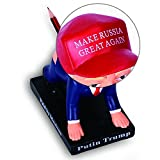 Saif Dae Putin Trump Pen Holder & Paperweight - MAKE RUSSIA GREAT AGAIN - Paid By Mexicans & Made in Jhina - Trump University desk paperweight - Bigly Funny