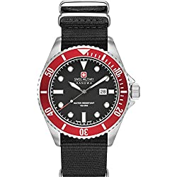 Hanowa Swiss Military SEA LION SET 06-8279.04.007.04SET Mens Wristwatch Exchangable Strap