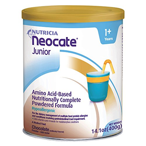 Neocate Junior, Chocolate, 14.1 oz / 400 g (Case of 4 cans)