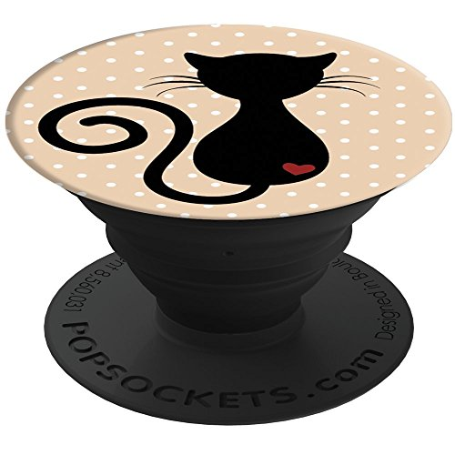 PopSockets: Collapsible Grip & Stand for Phones and Tablets - Cat