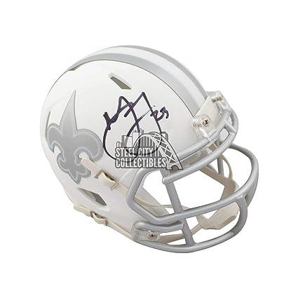Marshon Lattimore Autographed Signed New Orleans Saints Ice Mini