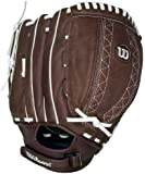 Wilson A440 FP115 Fielder's Brown Throw Fastpitch Glove (11.5-Inch)