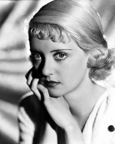 - Bette Davis 8x10 Publicity Photo Beautiful 1930's Glamour Pose Hand at Side of Face