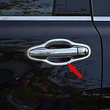 Fit BMW X5 2014 2015 Car Door Handle Cover Trim Trims Chrome