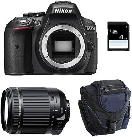 NIKON D5300 + TAMRON 18-200 VC + Sac + Carte SD 4Go: Amazon.es ...