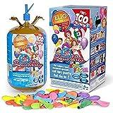 Zeus Party Bombola gas elio per gonfiare 100 palloncini + 100 palloncini Festa Compleanno Matrimonio Laurea