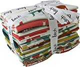 Jay-Cyn Designs Farm Fresh Prints 20 Fat Quarter Bundle Birch Organic Fabric