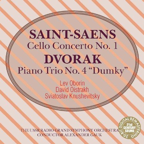 Saint-Saens: Cello Concerto No. 1 & Dvorak: Piano Trio No. 4