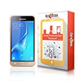 CareFone Samsung Galaxy J3 Pro Tempered Glass, Screen Protector, [9H Hardness] [Bubble Free] [Anti-Scratch] [Crystal Clarity]