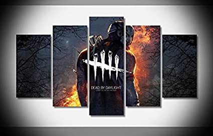Amazon.com: Mcanvas 5pcs Canvas Print Wall Art Painting Dead ...