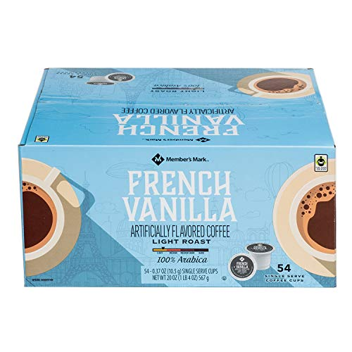 (Member's Mark French Vanilla Coffee K-Cups (54 ct.))