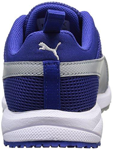 PumaCarson Run Junior - Zapatillas de running Unisex, para niños Azul (Surf The Web/Quartz)