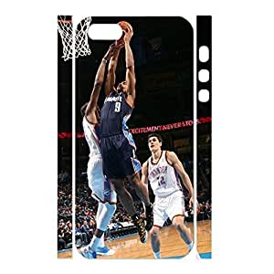 Exquisite Personalized Sports Series Basketball Player Photo Skin for Iphone 5 5s Case by mcsharks