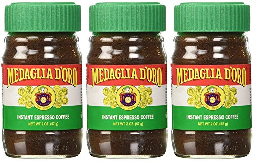- Medaglia D'Oro Instant Espresso Coffee, 2-Ounce Jars (Pack of 3)