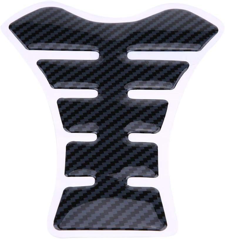 Fishbone Decal,Benzintank Seitlicher Kraftstoffgriffkissen mit Fishbone Aufkleber f/ür 650 650 2010-2017