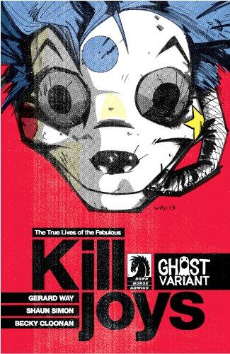 True Lives of the Fabulous Killjoys #1 Ghost Variant Gerard Way Cover (The True Life Of The Fabulous Killjoys)