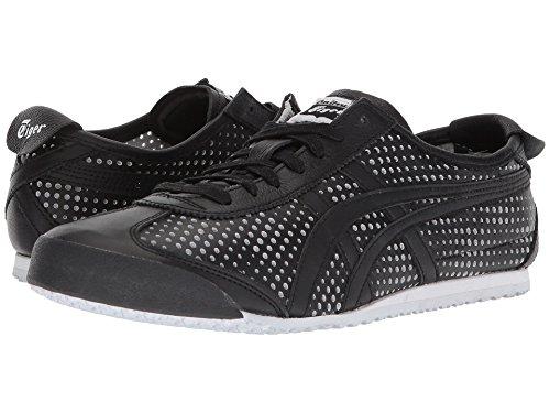 [Onitsuka Tiger(オニツカタイガー)] ユニセックスランニングシューズ?スニーカー?靴 Mexico 66 Black/Black Men's 8.5, Women's 10 (26.5cm(レディース27cm)) Medium