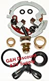 QUALITY Two Brush Starter Rebuild Plates Kit for 2000-2006 Honda TRX 350 Rancher