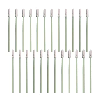 SUPVOX - 100 esponjas redondas de limpieza de espuma para ...
