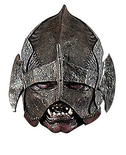 Rubie's Costume Co. Men's Lord of The Rings Deluxe Adult Uruk-hai Mask, Multicolor One -