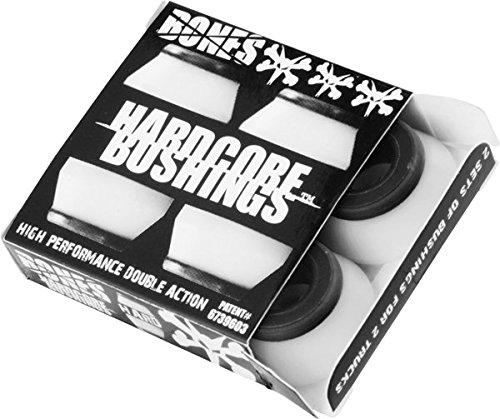 Bones Hardcore 4pc Hard White/Black ()
