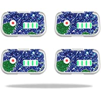 Skin For DJI Phantom 3 Drone Battery (4 pack) – Bling World   MightySkins Protective, Durable, and Unique Vinyl Decal wrap cover   Easy To Apply, Remove, and Change Styles   Made in the USA
