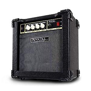 Rocktile BA-15 Jaco Basscombo (Bassverstärker im Combo-Format mit 15 Watt Leistung, für aktive und passive Bässe, 6,5…