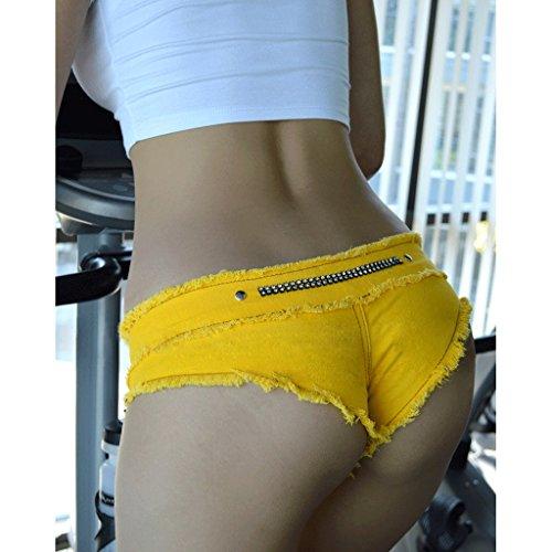 donna donna da da jeans Colore Pantaloncini corti vita dimensioni bassa D da di C spiaggia di Camicie Pantaloncini a Pantaloncini S jeans Jeans qEW8KctZ