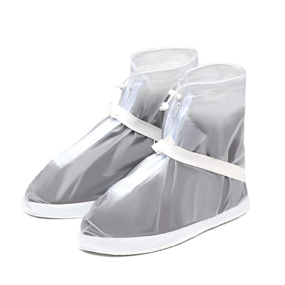 A prueba de viento nieve esquí gaiter Cubre zapatos, botas de lluvia impermeables Cubre zapatos para mujeres Hombres niños Antideslizantes Botas de nieve lluvia lavables y reutilizables Cubre bicicle Peggy Gu