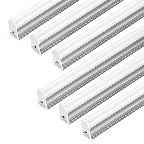 FrenchMay LED T5 mini utility linkable shop light 4ft, 22W, 85CRI, 2200Lumens, 5000K, 32w Fluorescent Equivalent, integrated ceiling light & under Cabinet shop light for garage, workshop, basement by FrenchMay (Image #8)