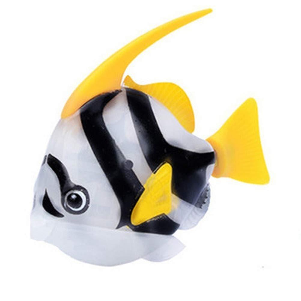 Egosy Nataci/ón el/éctrica Realista Robot Pescado Activado en Agua m/ágico electr/ónico Juguete beb/é Juguete de ba/ño Funciona con Pilas para ni/ños Juguete Regalo