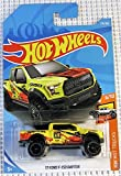 hot wheels ford f 150 - Hot Wheels 2018 50th Anniversary HW Hot Trucks '17 Ford F-150 Raptor 175/365, Yellow