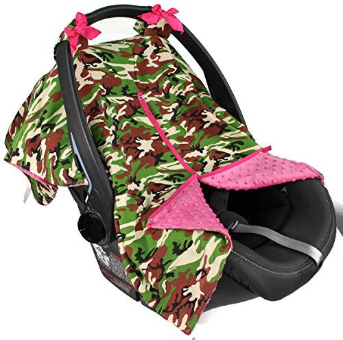 Camouflage Infant Car Seat And Stroller - 8