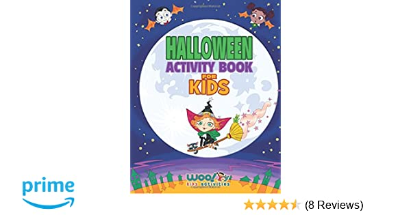 Halloween Activity Book For Kids: Reproducible Games, Worksheets And ...