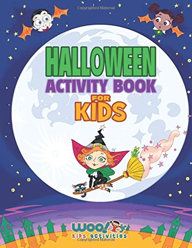 Halloween Activity Book For Kids: Reproducible Games, Worksheets ...