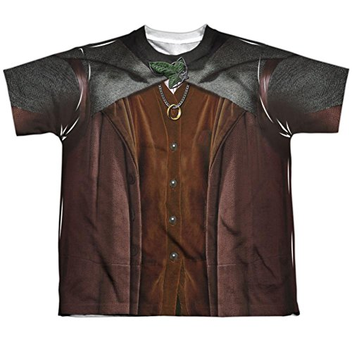 Youth: Lord Of The Rings- Frodo Costume Tee Kids T-Shirt Size YL