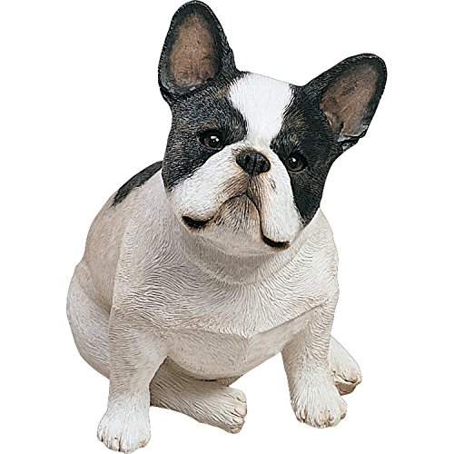 Sandicast Original Size Brindle French Bulldog Sculpture, (French Bulldog Collectibles)