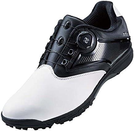 ゲルタスク 2 ボア ゴルフシューズ TGN921 0190 ホワイト/ブラック 28.0cm