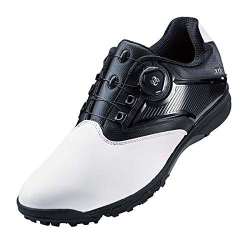 [アシックス] ゲルタスク ツー ボア(GEL-TUSK 2 BOA) ゴルフスパイク ホワイト/ブラック TGN921