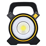 Solar Camping Lamp, Powerful COB Light USB Rechargeable Working Lamp