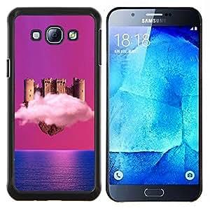 Stuss Case / Funda Carcasa protectora - Castillo de nubes - Samsung Galaxy A8 A8000