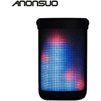 Anonsuo A8 Stereo lossless hi-fi Audio Portable outdoor wireless Bluetooth Speakers with 36 kinds of led changing