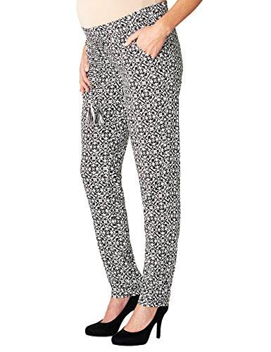 Noppies, Pantalones Premamá para Mujer Multicolor (Black C270)
